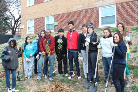 Collaborators at Donnelly College in Kansas City, Kansas planted 4 wild plums